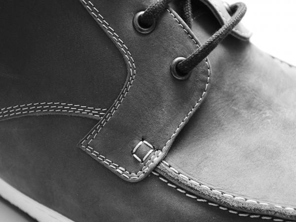 orthopedische veterschoen detail